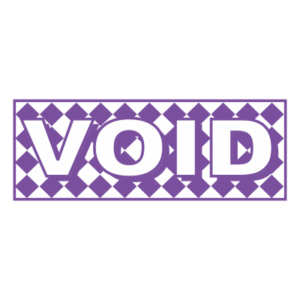 VOID Designer Series Office Stamp.