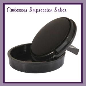 Embosser Impression Inker