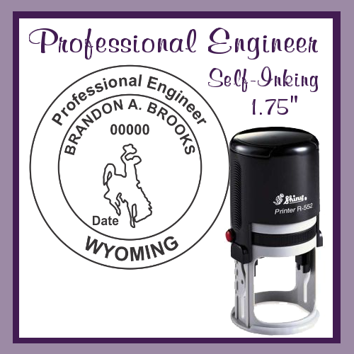 WY Professional Engineer (Self-Inking)