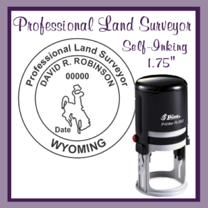 WY Professional Land Surveyor (Self-Inking)